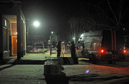 ВЧечне сгорели семейные дома устроивших 9мая теракт смертников
