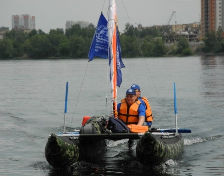 Наберегу Енисея найдено судно, затонувшее вXIX веке
