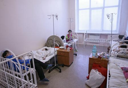 ВНовгородской области влагере «Олимпиец» отравились 14 детей