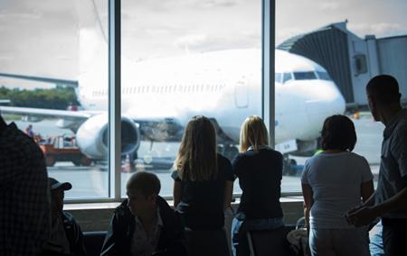 Самолет сжег асфальт навзлетной полосе самарского аэропорта «Курумоч»