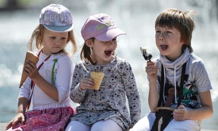 8-ой температурный рекорд августа установлен вУфе