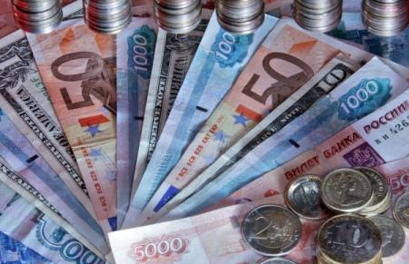 Русский руб. снизился кдоллару иевро