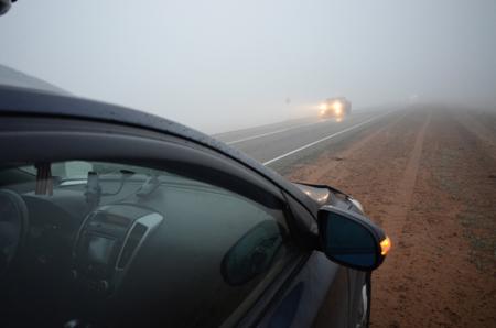 Туман спровоцировал массовую трагедию нановосибирской трассе