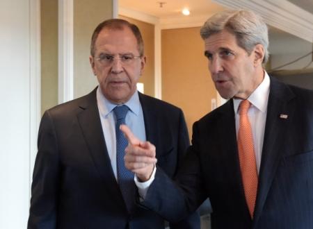 ВЖеневе начались переговоры Лаврова иКерри поСирии