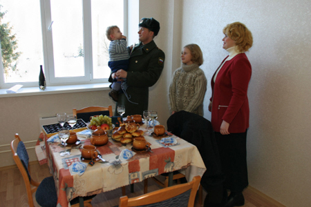 Путин распорядился выделить жилье бывшим украинским военным вКрыму