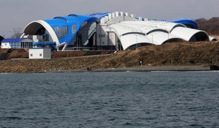 ВоВладивостоке открылся Приморский океанариум