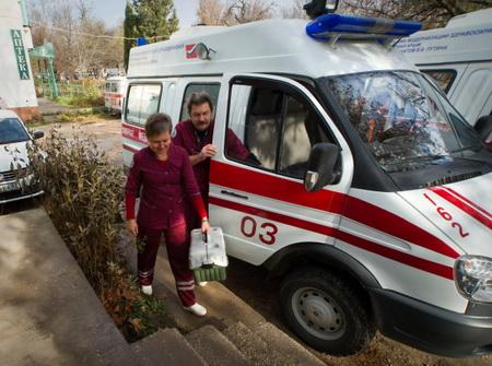 ПоСамаре поедут новые машины «скорой помощи»