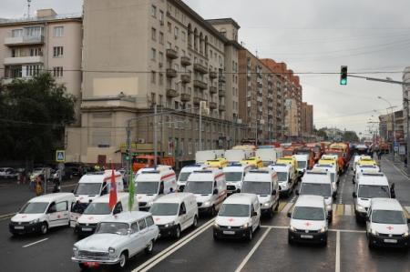 Руководство РФвыделит дополнительно 1 млрд руб. напокупку карет скорой помощи