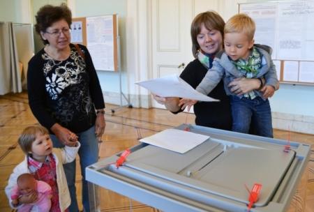 Явка вКрыму надумских выборах приблизилась к35%