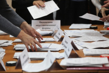 «Единая Россия» набрала неменее 54% после подсчета ¾ голосов