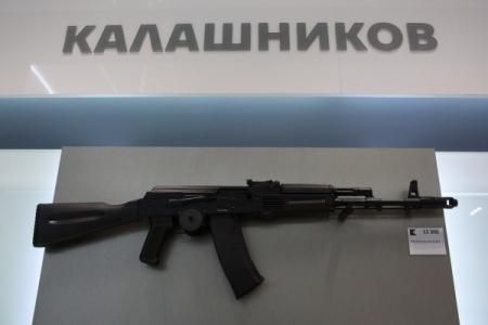 «Четакой серьезный»: Путин передразнил сотрудника компании «Калашников»