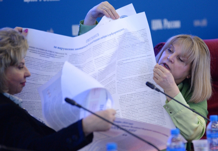 Памфилова пожалуется Путину наГордеева порезультатам выборов вВоронежской области