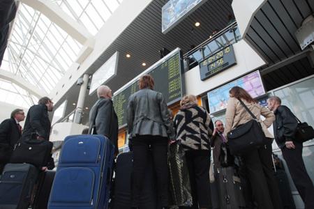 Пулково потерял любого 5-ого пассажира на интернациональных рейсах