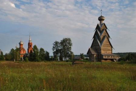 Самую высокую деревянную церковь в РФ начали возрождать вТверской области