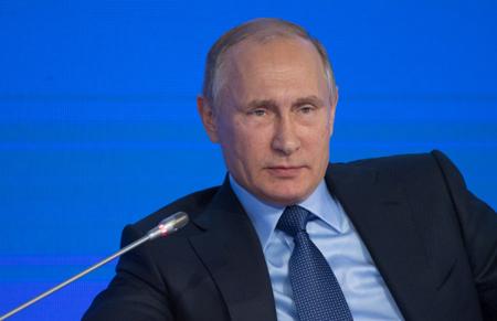 Путин объявил оготовности продлить гуманитарную паузу вАлеппо