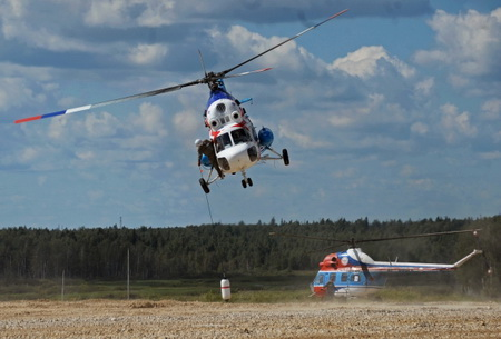Вертолет новосибирского учреждения рухнул на личный дом вСочи