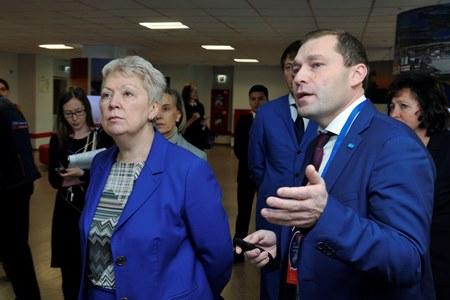 Ольга Васильева прибыла вТюмень иуже побывала введущем институте