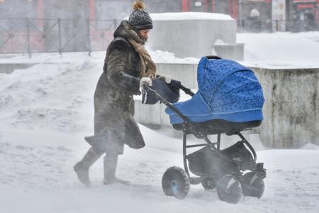 ВМоскве сегодня ожидается небольшой снег