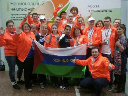 Калужанка вошла втройку победителейII государственного чемпионата профмастерства «Абилимпикс»