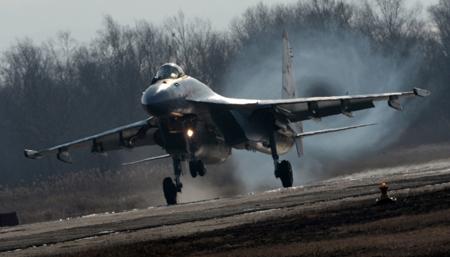 Самые новые истребители Су-35С прибудут нааэродром базирования вКарелии