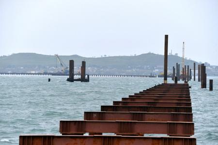 Начто расходуются деньги— Строительство Керченского моста