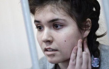 Бывшей студентке МГУ Карауловой продлили арест до13января