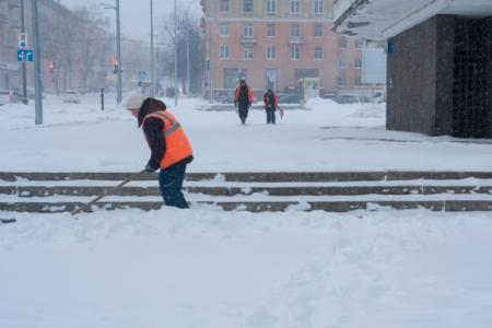 В российской столице выпало 10см снега задень