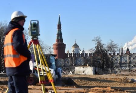 Собянин: Начался завершающий этап возведения парка «Зарядье»