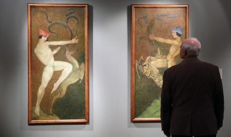 ВГМИИ имени Пушкина открылась масштабная выставка грузинского авангарда