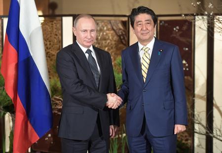 Владимир Путин прибыл вТокио для продолжения переговоров сСиндзо Абэ