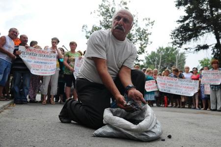 ЕР желает сделать группу попроблеме долгов перед ростовскими шахтерами