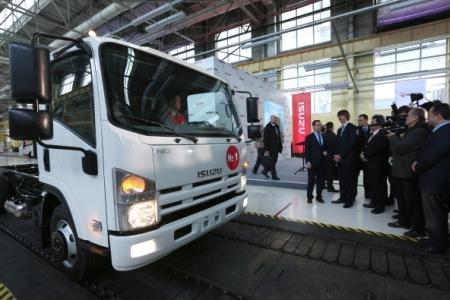 Ульяновский завод «Isuzu» готовится квыпуску тяжелых фургонов
