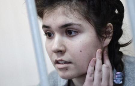 Варвара Караулова выступила всуде споследним словом