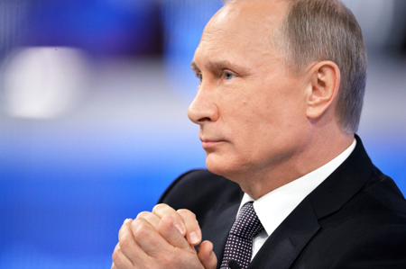 Сегодня состоится огромная пресс-конференция В.Путина