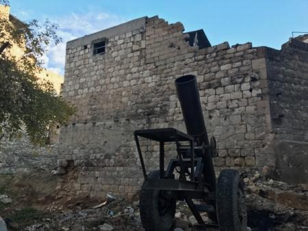 Последние боевики нехотят покидать восточную часть Алеппо