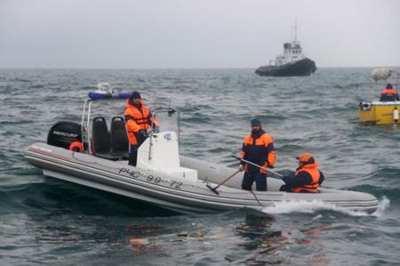 Cотрудники экстренных служб отыскали останки 80 жертв катастрофы Ту-154