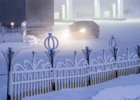 ВПодмосковье похолодало до-36 градусов Цельсия