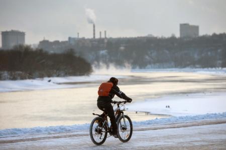 Московские власти прокомментировали отказ отменять велопарад в30-градусный мороз