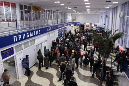 Аэропорт в прошлом году перевез рекордное число пассажиров