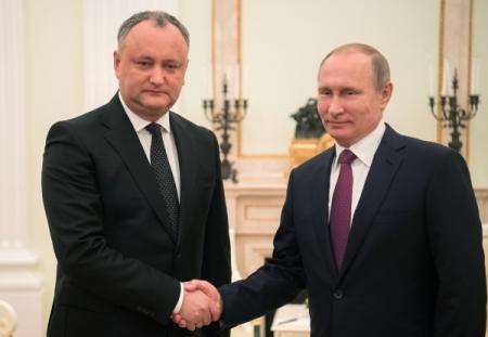 Российская Федерация выступает завнеблоковый статус Молдавии— Путин