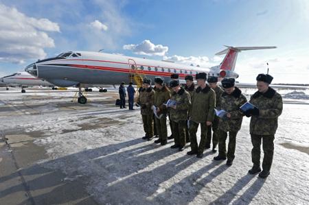 СМИ говорили о вероятном отказе Минобороны отсамолёта Ту-154