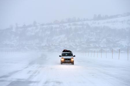 ВАлтайском крае начали открывать дороги, однако выезды изБарнаула закрыты