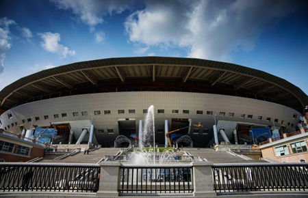 Смольный: Стадион наКрестовском острове готов кпередаче «Зениту»