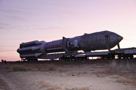 Роскосмос: 1-ый коммерческий запуск «Протона» намечен на апрель