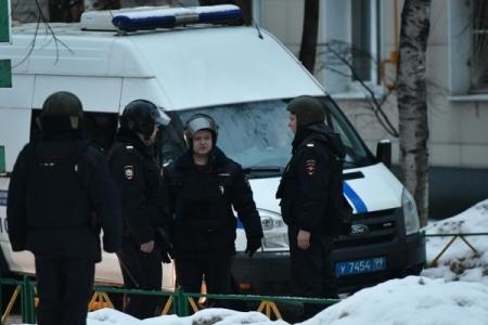 Вглобальной паутине появилось видео задержания участника нападения наинкассаторов