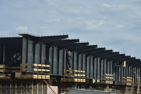 Строящийся Крымский мост снабдят системами транспортной безопасности