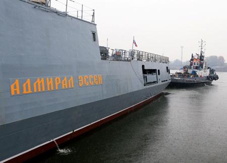 Уголовное дело возбудили после повреждения фрегата «Адмирал Эссен»