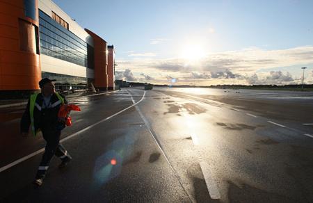 Из-за реконструкции ВПП калининградский аэропорт Храброво вводит технологические перерывы