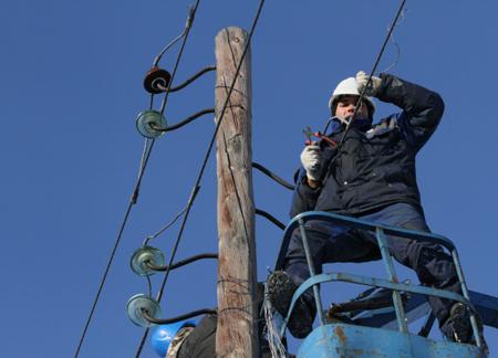 ВАстраханской области восстановлены линии электропередачи