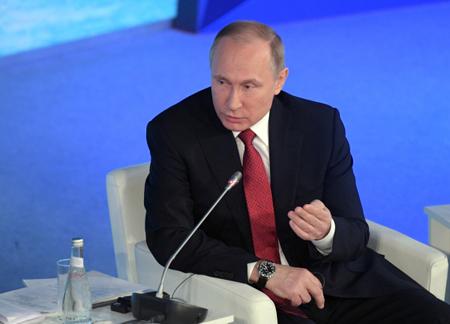 Путин: Российская Федерация будет крупнейшим мировым производителем сжиженного газа